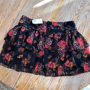 H&M Skirts - H&M tiered ruffled skirt with back zip/NWT